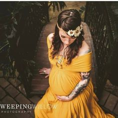 26e2f2d347062 Bohemian Gown - Yellow Maxi Dress - Infinity Dress - Convertible Dress - Maternity  Dress - Bridesmaid Dress - Photo Shoot - The Lauren