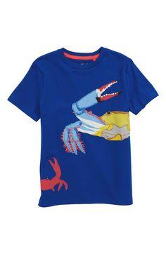 28f2982b0 Mini Boden Aquatic Pals Crab Appliqué T-Shirt (Toddler Boys, Little Boys &  Big Boys) | Nordstrom