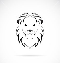 easy lion drawing simple of a to draw head attachment - lion face drawing step Lion Drawing Simple, Lion Face Drawing, Simple Lion Tattoo, Drawing Drawing, Basic Drawing, Drawing Step, Lion Head Tattoos, Leo Tattoos, Cute Tattoos