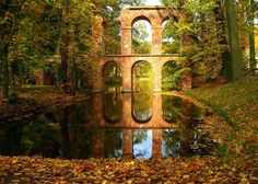 An Aqueduct in Arcadia, Poland