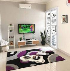 dari Like dan Tag temanmu Small House Interior Design, Home Room Design, Living Room Designs, Living Room Wall Units, Living Room Decor, Hall Design, House Rooms, Making Ideas, Style At Home