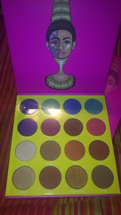 The Masquerade palette by Juvia's Place! #Stunning