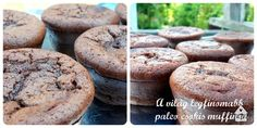 Paleo csokis muffin -A csúcsok csúcsa!