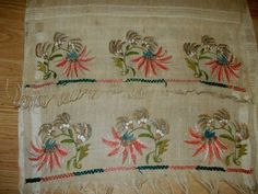 ottoman silk towel with gold metallic threads   Antiques, Linens & Textiles (Pre-1930), Embroidery   eBay!