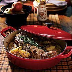 Rosemary Pork Tenderloin with Harvest ApplesRecipe