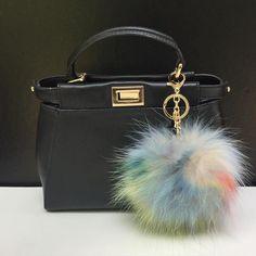 NEW Collection Dimensional Swirl Multi Color Raccoon Fur Pom Pom bag charm clover flower charm keychain #furpompomkeychain #etsy #yourbagdeservestobepommed #pomyourbag #furpompom #furbagcharm #furcharm #bagcharm #womensaccessories #womenstyle #womensfasion #trends #trending #blogger #bloggerstyle #instacool #instastyle #instafasion #fashionista #musthaveitem #musthaveaccessories #keychain