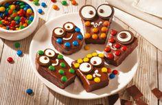Monsterlijke mini brownies