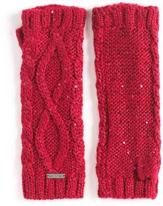 Calvin Klein Sequin Arm Warmers. Looks stylish. Great to keep the arms warm both indoors and outdoors! #StylishComfort