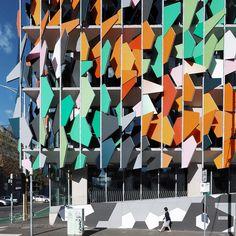 Pixelrain by edutilos #architecture #building #architexture #city #buildings #skyscraper #urban #design #minimal #cities #town #street #art #arts #architecturelovers #abstract #photooftheday #amazing #picoftheday