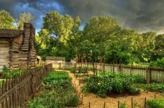 New Salem State Historic Site, IL by Robert Shaw