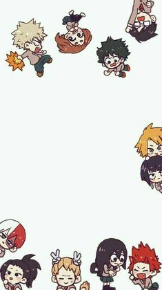 Find images and videos about anime, wallpaper and chibi on We Heart It - the app to get lost in what you love. Anime Chibi, Kawaii Anime, Fanarts Anime, Chibi Cat, Bts Chibi, Naruto Wallpaper, Hero Wallpaper, Cute Anime Wallpaper, Chibi Wallpaper