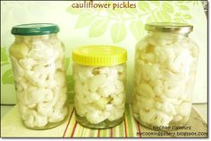 These Cauliflower Pickles are so addictive! They are great served alongside roasted meats, and make really good appetizer, in my case, so ad...