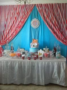 Circus themed 1st Birthday