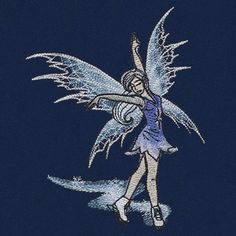 Figure Skating Fairy design (UT15801) from UrbanThreads.com