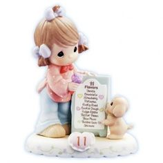 Growing In Grace Age 11 Figurine - Growing In Grace - Figurines - Precious Moments