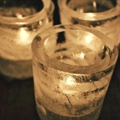 DIY Ice candles tutorial - must try!  http://www.intimateweddings.com/blog/diy-ice-candles-tutorial/