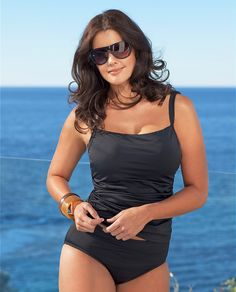 #plus size swimsuits