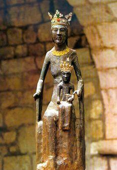 Vierge noire, Notre-Dame de Rocamadour - Lot (France)