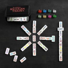 Mexican Train Dominoes by Puremco