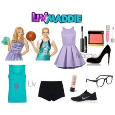 Liv and Maddie - Polyvore