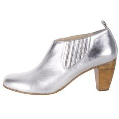 RIttenhouse Ankle Boots Metalli Silver