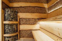 23 trendy Ideas for home gym sauna hot tubs Sauna Steam Room, Sauna Room, Spa Bathroom Decor, Wood Bathroom, Rustic Saunas, Sauna Wellness, Diy Sauna, Piscina Spa, Sauna House