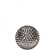 Hammered Door Knob Silver