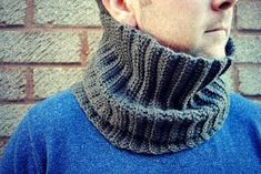 THE HUBBY COWL - CROCHET