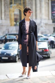Parisian street style is heating up—see all the best looks spotted at #PFW here: