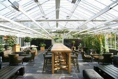 De Kas Restaurant Amsterdam