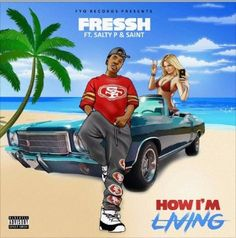"""How im living"" by Fresshboi will soon topple numerous other hit rap tracks. The astounding beat verse mix keeps the group of onlookers energized."