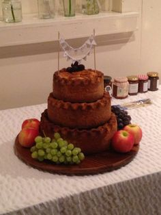 Pork Pie Wedding Cake An Alternative To The Traditional