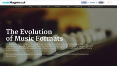 The Evolution of Music Formats, musicMagpie.co.uk