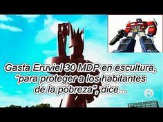 Paga Eruviel 30 MDP por escultura en zona de extrema pobreza