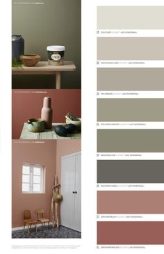Jotun LADY - Det nye vakre fargekartet 2015 by Jotun Dekorativ AS - issuu Colour Pallete, Colour Schemes, Colour Trends, Trendy Bedroom, Modern Bedroom, Master Bedrooms, Wall Colors, House Colors, Colours