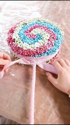How To Wrap Flowers, Diy Flowers, Flower Decorations, Paper Flowers, Church Flower Arrangements, Beautiful Flower Arrangements, Floral Arrangements, Flower Box Gift, Flower Boxes