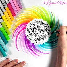 Brush Lettering Quotes, Brush Pen Calligraphy, Calligraphy Cards, Hand Lettering Tutorial, Hand Lettering Alphabet, Lettering Styles, Modern Calligraphy, Marker Paper, Marker Art