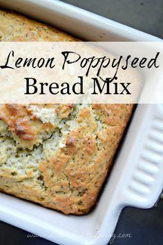 Lemon Poppyseed Bread Mix and Recipe....yummy!