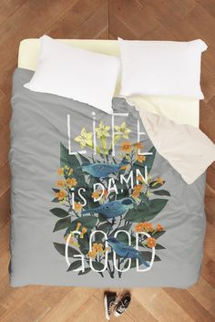 "Duvet: ""Life is Damn Good"" by Fil Gouvea 