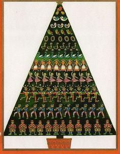Old Christmas Post Cards — (506x653)