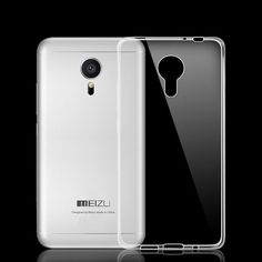 Clear Phone Shell Silicone Cover Transparent TPU Soft Case For MEIZU M2 Mini MX5 #Unbranded