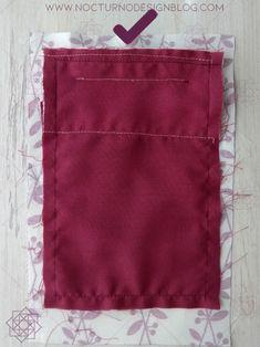 Cómo hacer un bolsillo de ribete. Técnicas de costura. Tipos de bolsillos. Costura fácil paso a paso. tutorial de costura. Técnicas de costura. Design Blog, Pot Holders, Diy, Sewing, Molde, Dress Pants, Embroidered Clothes, Fabric Purses, Fabrics