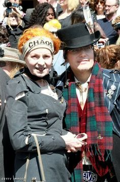 Vivienne Westwood and Adam Ant  | Find the Latest News on Vivienne Westwood at Sandi in the City