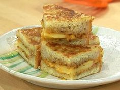 French-Toast Grilled Cheese with Apples