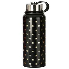 Gold Stars Canteen Bottle (55525 PYG) ❤ liked on Polyvore featuring home and kitchen & dining