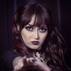 "☥ Natália Fay ☥ on Instagram: ""#singer #cantora #leadsinger #metalband #metal #symphonicmetal #actress #atriz @santograalband"" Sad Eyes, Gothic Beauty, Singer, Metal, Instagram, Goth Beauty, Singers, Metals"