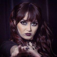 "☥ Natália Fay ☥ on Instagram: ""#singer #cantora #leadsinger #metalband #metal #symphonicmetal #actress #atriz @santograalband"" Sad Eyes, Gothic Beauty, Singer, Metal, Instagram, Goth Beauty, Singers, Metals"