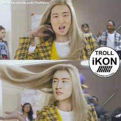 #iKON #Hanbin #Bobby #Jinhwan #Donghyuk #Junhoe #Yunhyeong #Chanwoo #iKON ❤ Kim Hanbin Ikon, Ikon Kpop, Chanwoo Ikon, Korean People, Duck Face, Meme Faces, Derp, Funny Moments