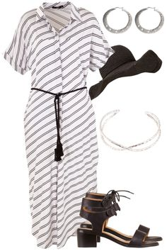 Outfit of the Day: In a loose fitting maxi and a pair of sandals, you're day will be as relaxed as you are!