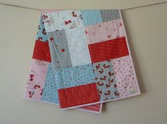 Little Red Riding Hood cot or crib Quilt by LoveBeaHandmade, $130.00